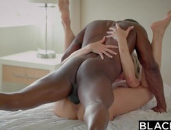BLACKED Cheating Mummy Brandi Likes First Chubby Blackguardly Bushwa