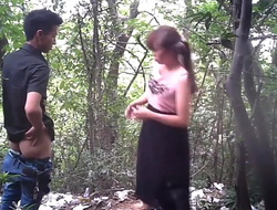 Oriental Call-girl From behind With Condom