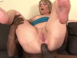 Horny mom with natural breasts fucks her blacky on high the embed