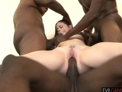 Creampied by a strip of gangsters
